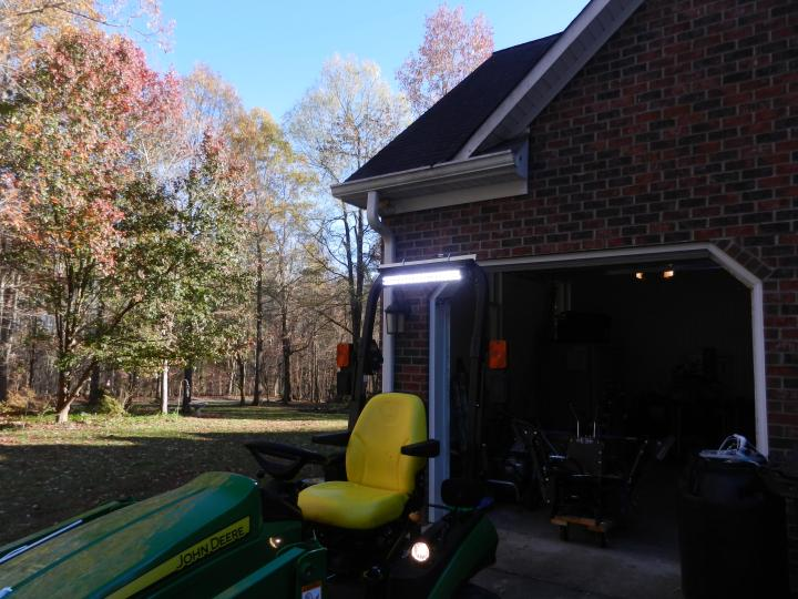 Led Lights For Utility Tractors : What did you do with your scut deere today