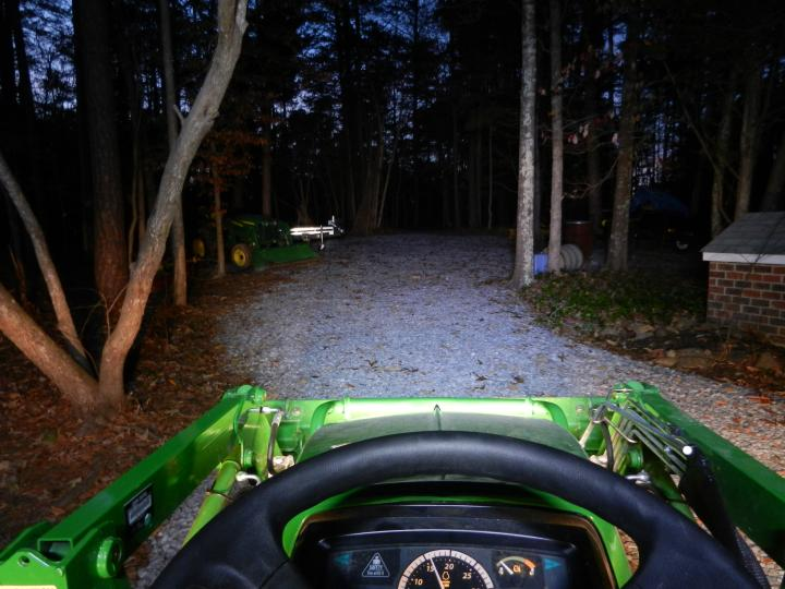 Tractor Headlights Comparison : What did you do with your scut deere today page