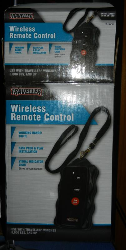 Added inexpensive wireless remote to the PJ dump trailer (lots o pics)