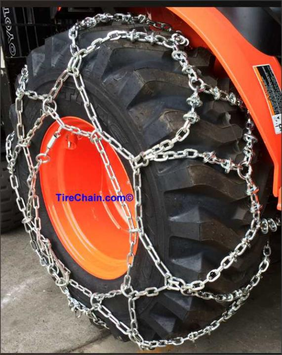 Tire Chain Finder. Use the fields below to search for a tire size and filter results. IMPORTANT: Tire chains should be fitted to the tires before actual use is required.